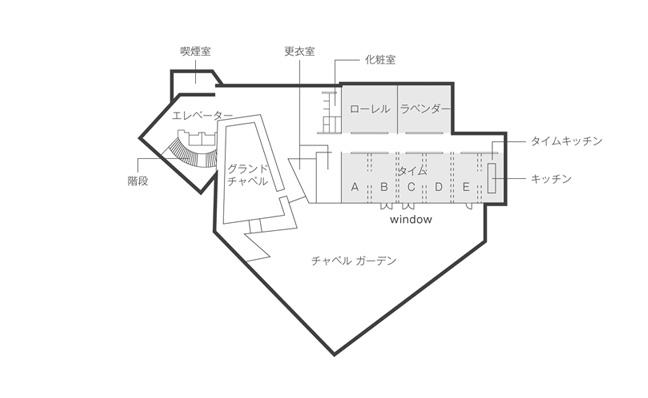 4階の会議室