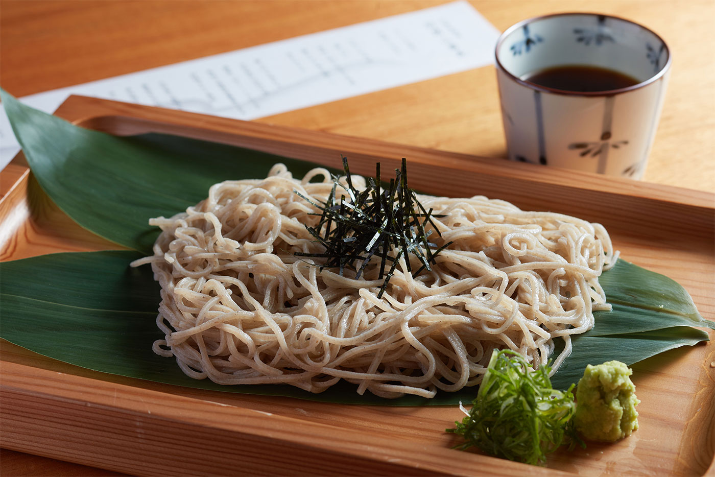 Cultivated In Tozawa Village Yamagata Prefecture And The Noodles Are Made Using An Original Blend That Was Developed Solely For Shunbou Restaurant