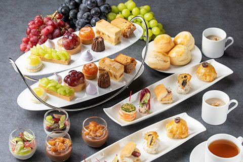 Fresh Grape Afternoon tea 2020 All Day Dining The French Kitchen Grand Hyatt Tokyo Main eyecatch