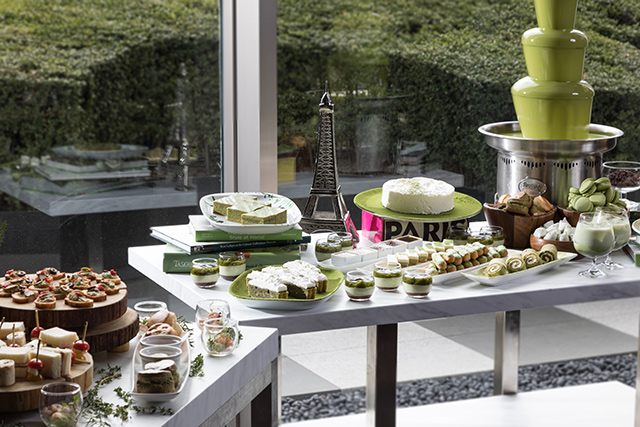 Matcha Afternoon Tea sweats buffet