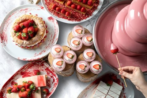 The French Kitchen Strawberry Afternoon Tea Buffet eyecatch