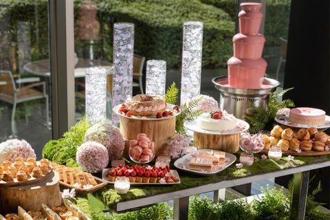 The French Kitchen Sakura and Strawberry Afternoon Tea eyecatch
