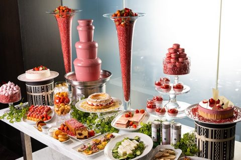 The French Kitchen Strawberry Afternoon tea eyecatch