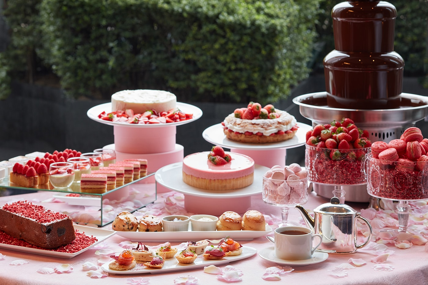 The French Kitchen Strawberry Afternoon Tea