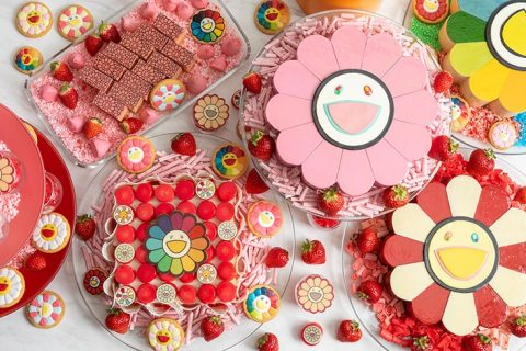 Takashi Murakami Flower Strawberry Afternoon Tea icatch
