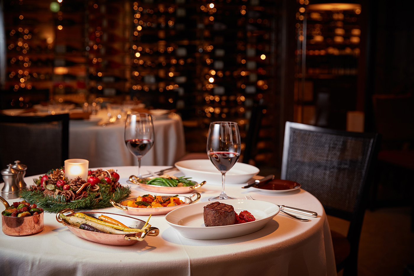 Dinner party ideas at a restaurant