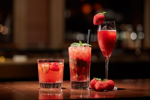 Maduro Strawberry Cocktail