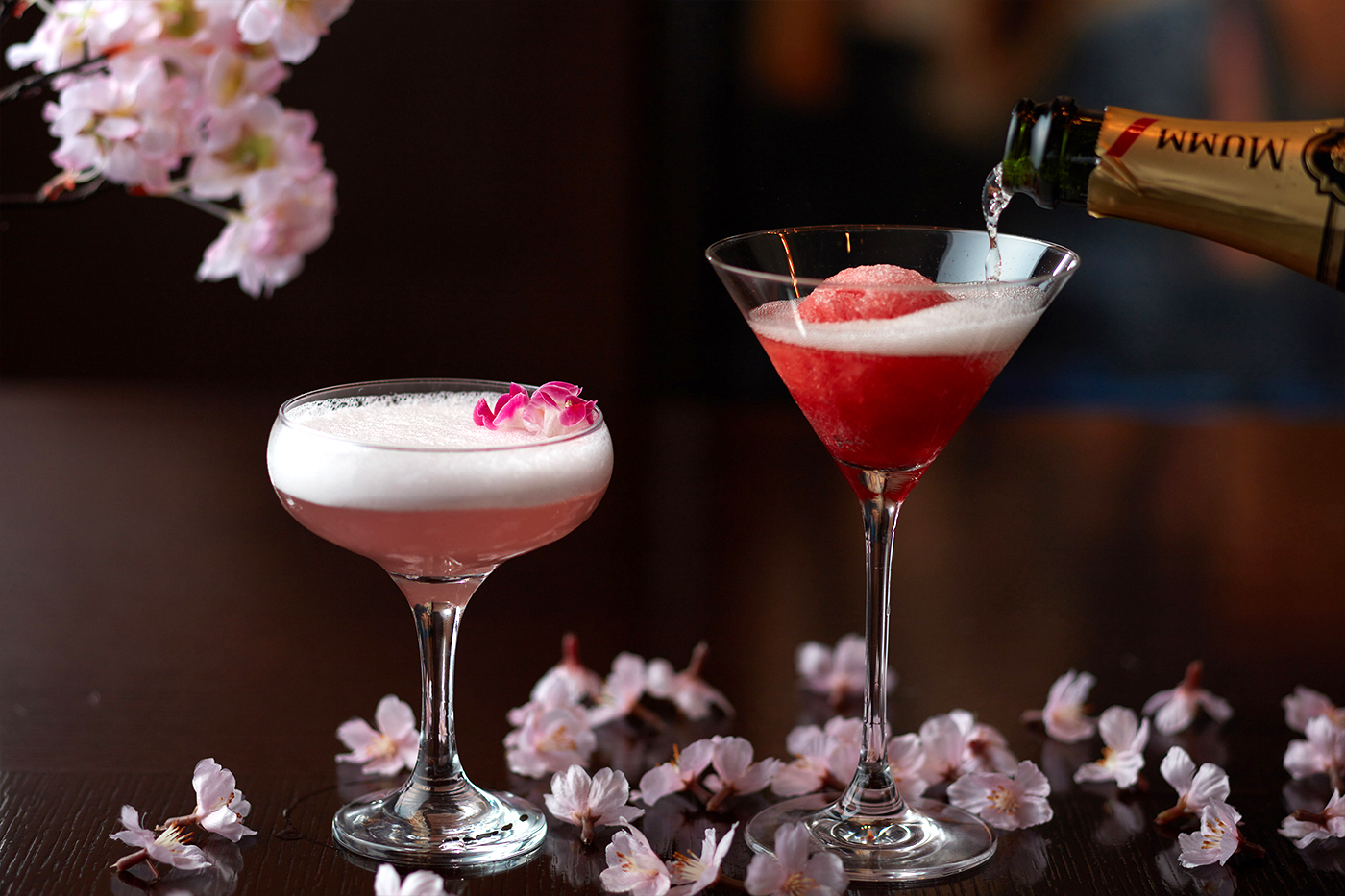 Sakura Cocktails