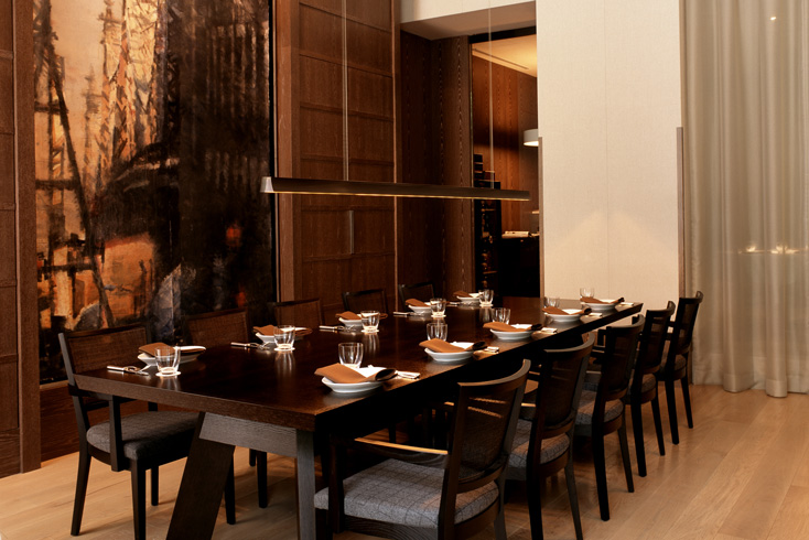 TOD private dining room
