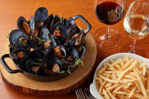The French Kitchen Moules frites eyecatch