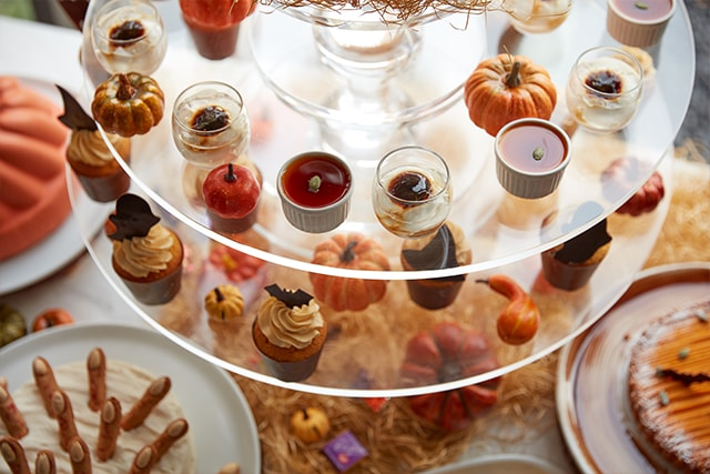 The French Kitchen Halloween Afternoon Tea Sweets Buffet C
