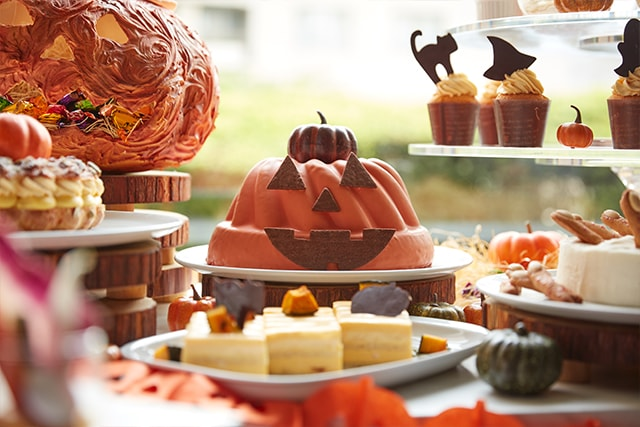 The French Kitchen Halloween Afternoon Tea Sweets Buffet  D