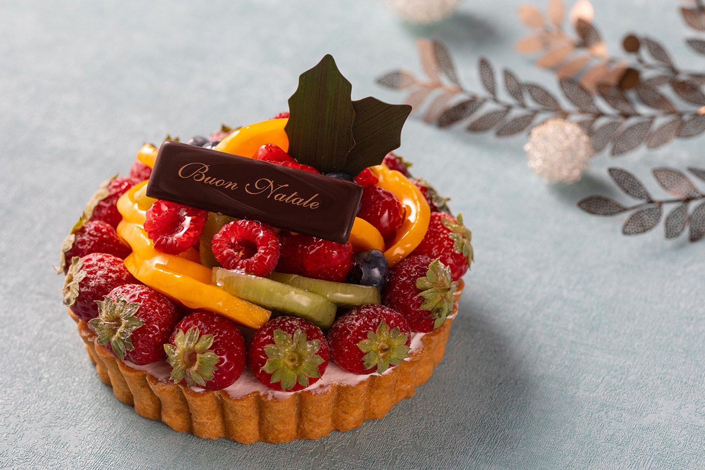 Fiorentina Pastry Boutique Ricotta Fruits Tart