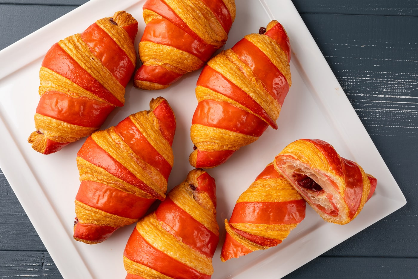 Strawberry Chocolate Croissants 1400