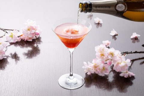 The Oak Door Bar Sakura Champagne Sorbet eyecatch