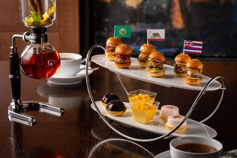 The Oak Door Afternoon Tea Set Mini Burgers eyecatch