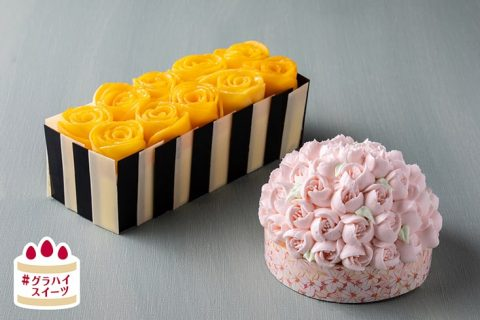 Mother's Day Flower Sweets Cakes eyecatch