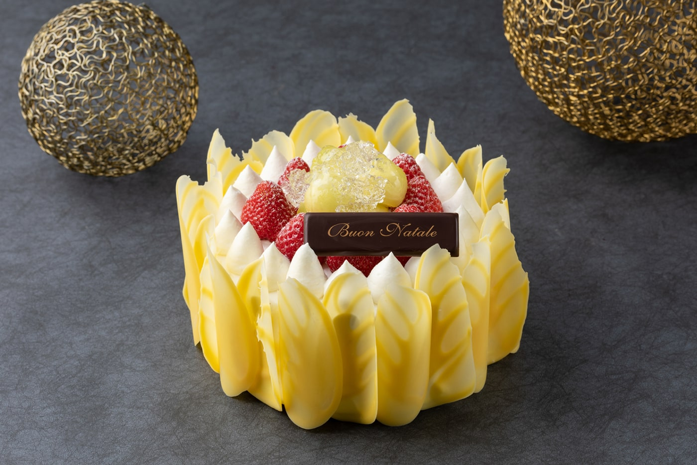 Fiorentina Pastry Boutique Christmas Cake 2019 Grand Premium  Fruit Shortcake 1400