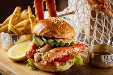The Oak Door Crab Burger eyecatch