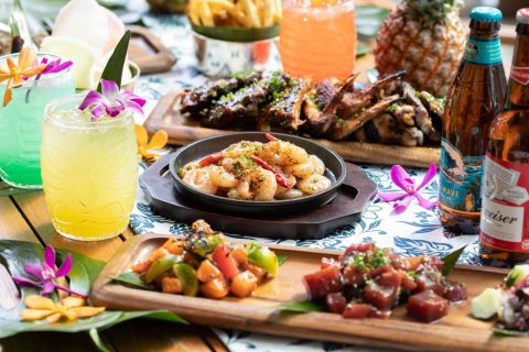 Hawaiian barbechue beer garden Steakhouse The Oak Door Grand Hyatt Tokyo eyecatch