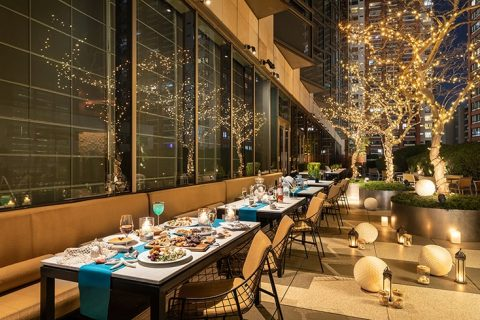 Mediterranean Greek Barbecue-Terrace-main-The-French-Kitchen Grand Hyatt Tokyo eyecatch