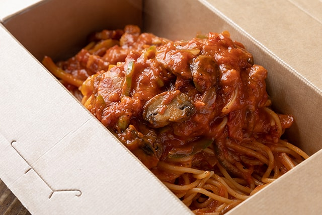 Spaghettini neapolitan take out 640B