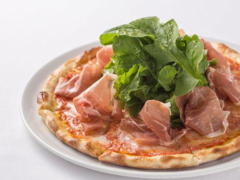 ハム&ルッコラのピザ