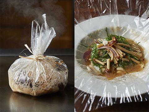 白身魚と野菜入り包み焼 トリュフストック