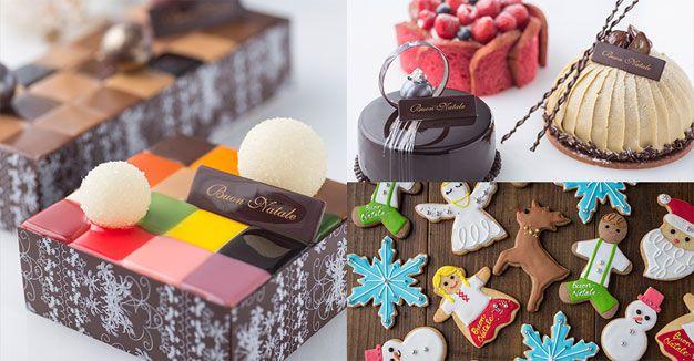 2016年 限定クリスマスケーキ&スイーツコレクション