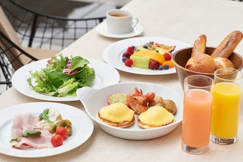 フレンチキッチン 朝食ブッフェイメージ アイキャッチ