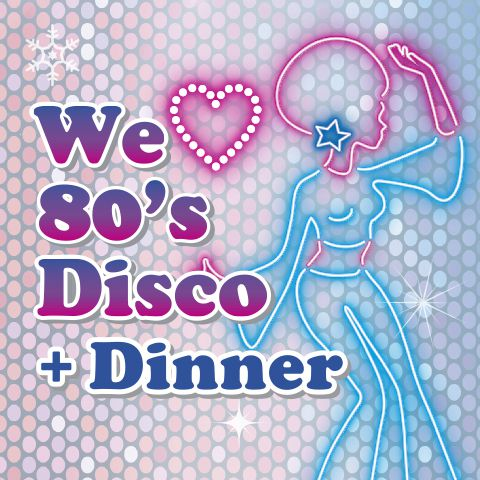 we love 80s disco