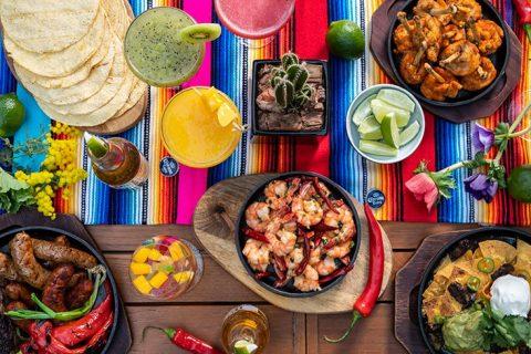 オーク ドア サマーバーベキュー ビアガーデン ~Fiesta Mexicana~ 俯瞰イメージ アイキャッチ