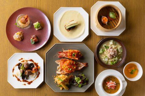 Chinaroom Grand Hyatt Tokyo Online dinner course