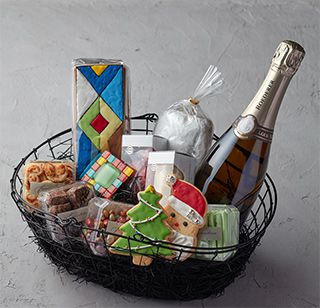 christmas charity hamper