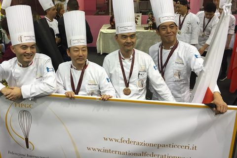 ペストリー料理長 金子浩シェフ 3位入賞