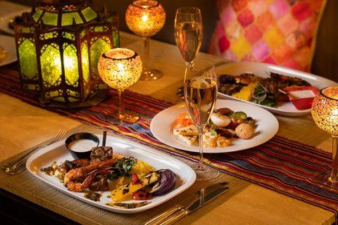 フレンチ キッチン バーベキューテラス~ French Moroccan Style ~ テーブル アイキャッチ