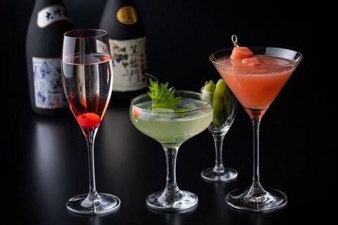 オークドア 日本酒カクテル アイキャッチ