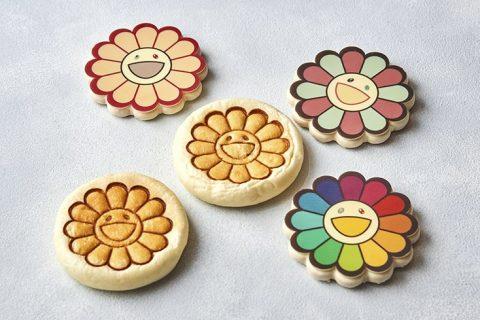 村上隆お花クッキーとあんぱん アイキャッチ画像