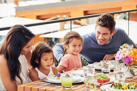 家族での夕食 グランドハイアット東京