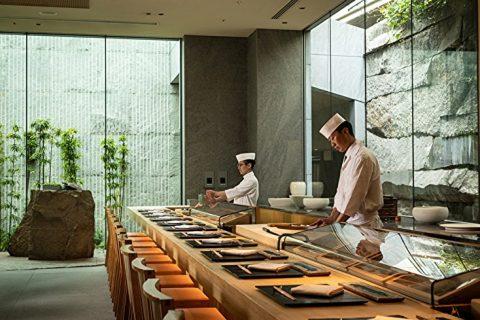 寿司ディナー カウンター テーブル 六緑 アイキャッチ