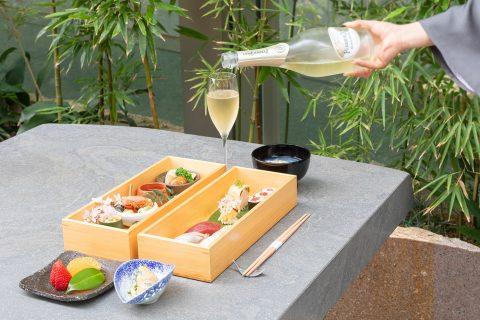 六緑 春の寿司弁当 グランド ハイアット 東京 メイン画像