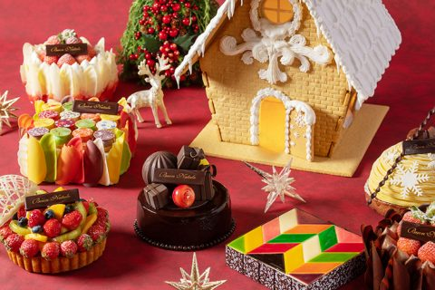 クリスマスケーキ 2021 グランド ハイアット 東京 アイキャッチ