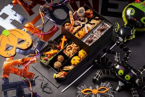 グランド ハイアット 東京 フィオレンティーナ ペストリー ブティック ハロウィン アフタヌーンティー テイクアウトボックス 2021 アイキャッチ画像