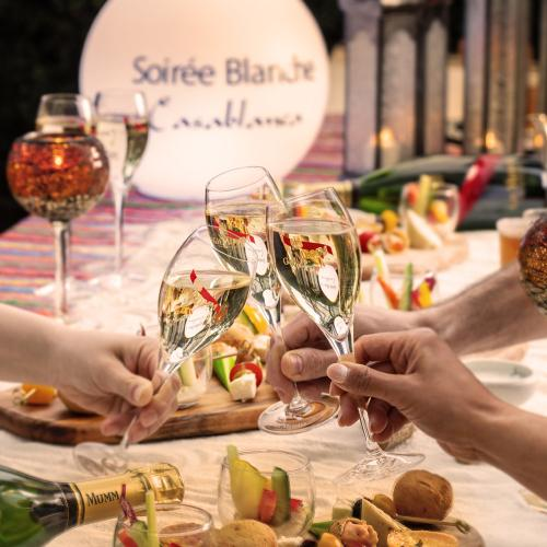 【Regular Plan】 Soirée Blanche French Moroccan Night ~All White Summer Party~
