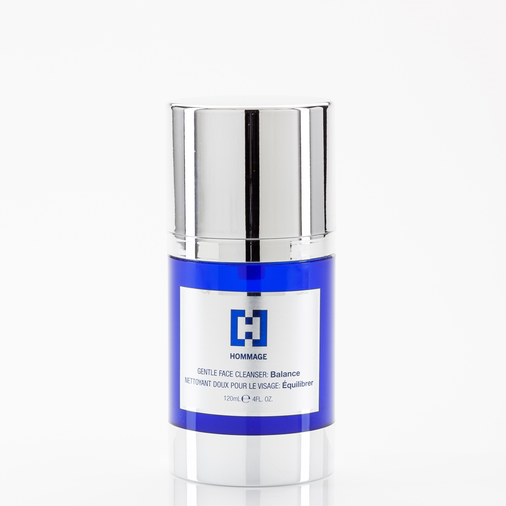 HOMMAGE GENTLE FACE CLEANSER: Balance 120ml