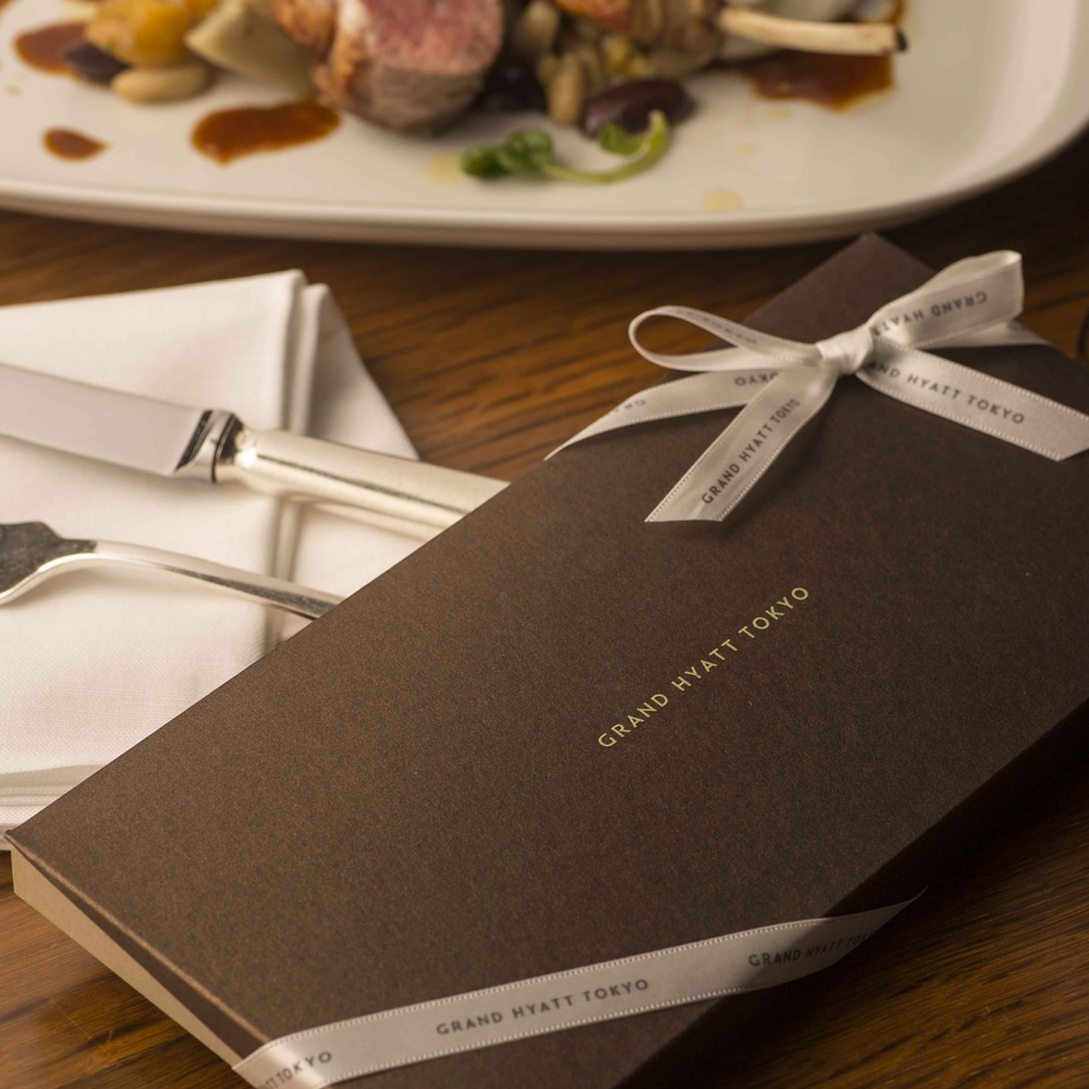 5 Dining Certificates with Gift Box