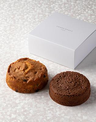 パウンドケーキ「トゥッティー フルッティー」パウンドケーキ「ガトー ショコラ オレ」